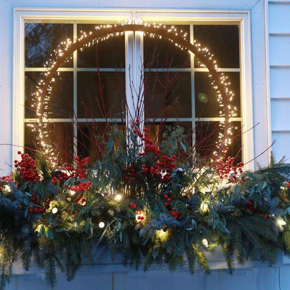 χριστουγεννιατικα φωτακια εξωτερικου χωρου